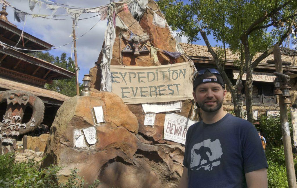 Expedition Everest Yeti Shirt