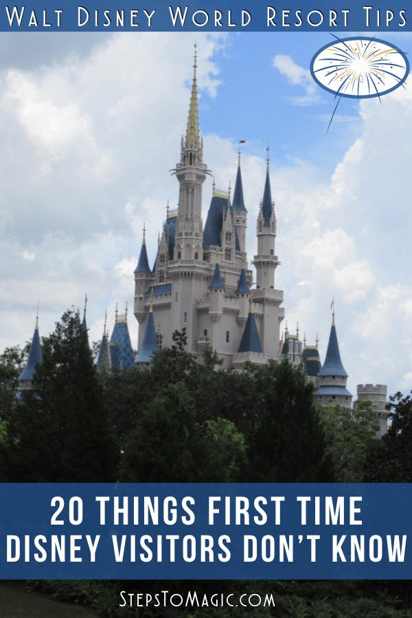 20 Things First Time Disney Visitors Don't Know