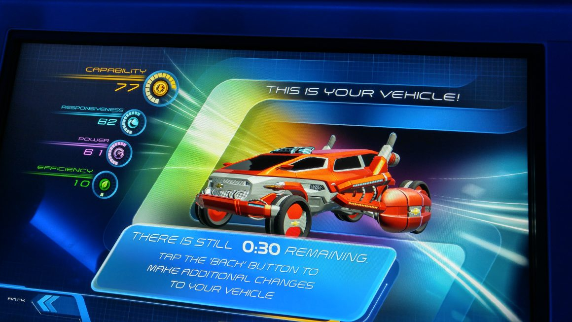 Test Track Design Studio Car