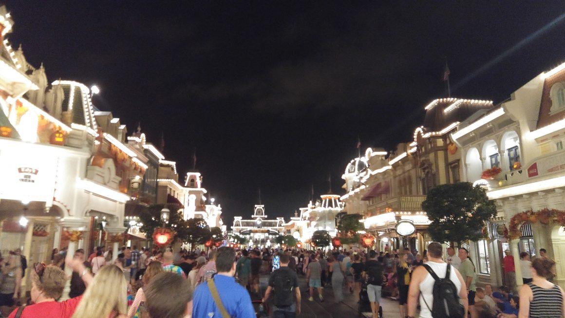 Main Street USA After Fireworks