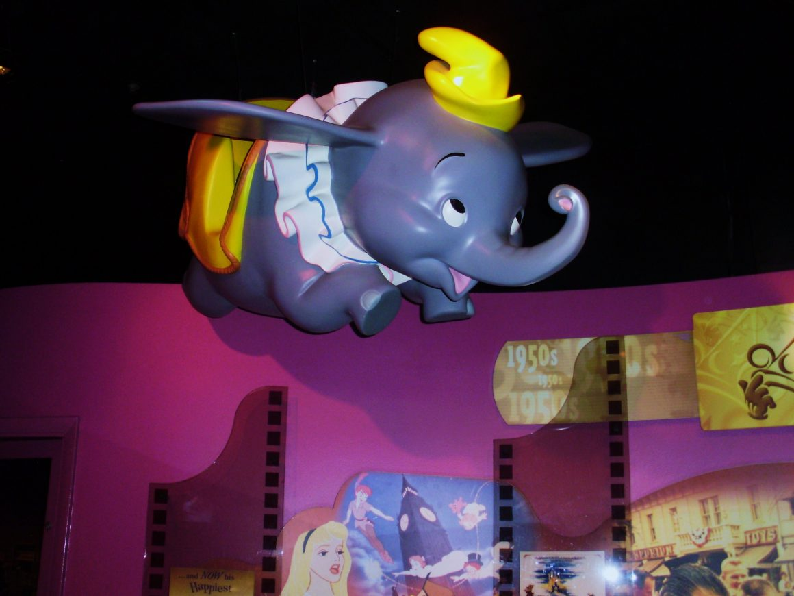 One Mans Dream - Dumbo Display