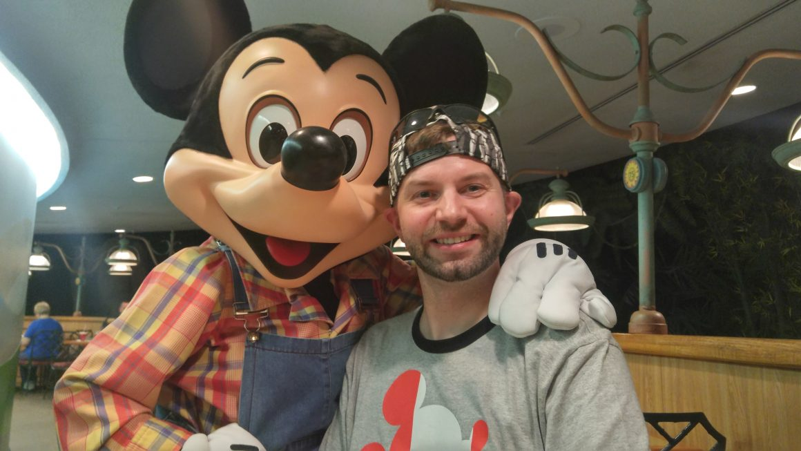 Garden Grill with Mickey and Dustin