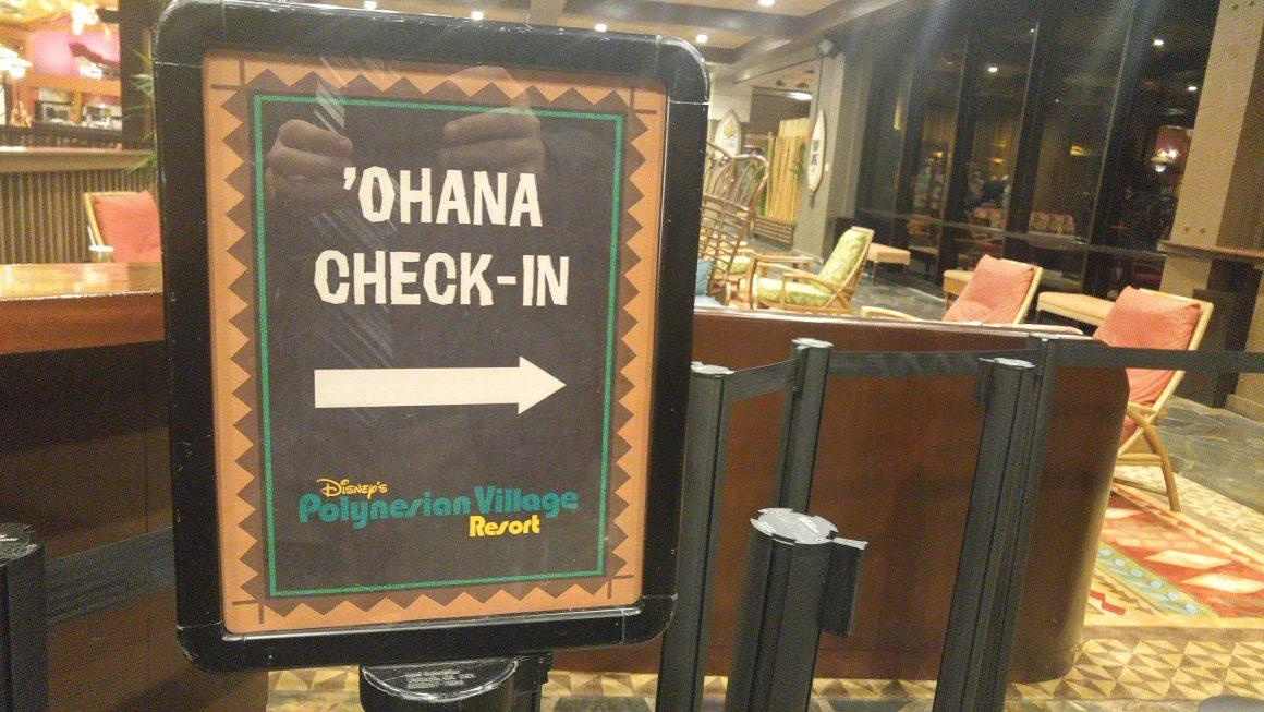 Ohana Restaurant at Disney's Polynesian Village Resort