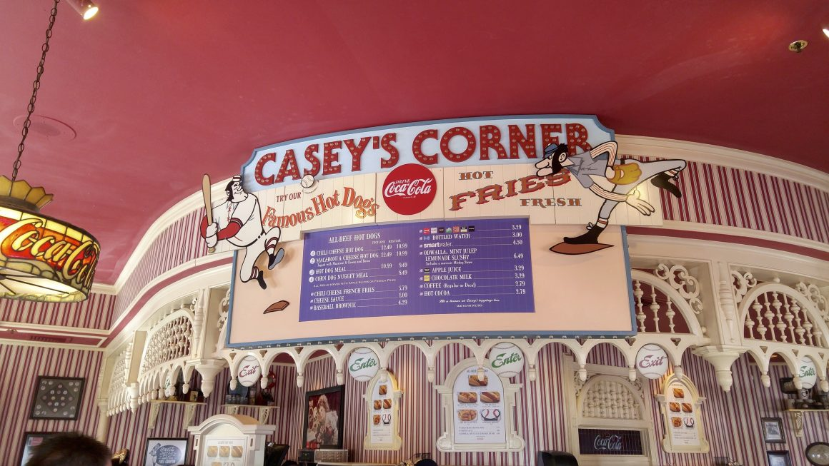 Casey's Corner on Main Street USA