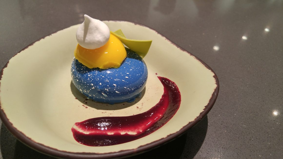 Blueberry Cream Cheese Mousse at Satuli Canteen