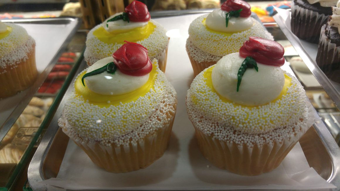 Belle Cupcake at Boardwalk Bakery