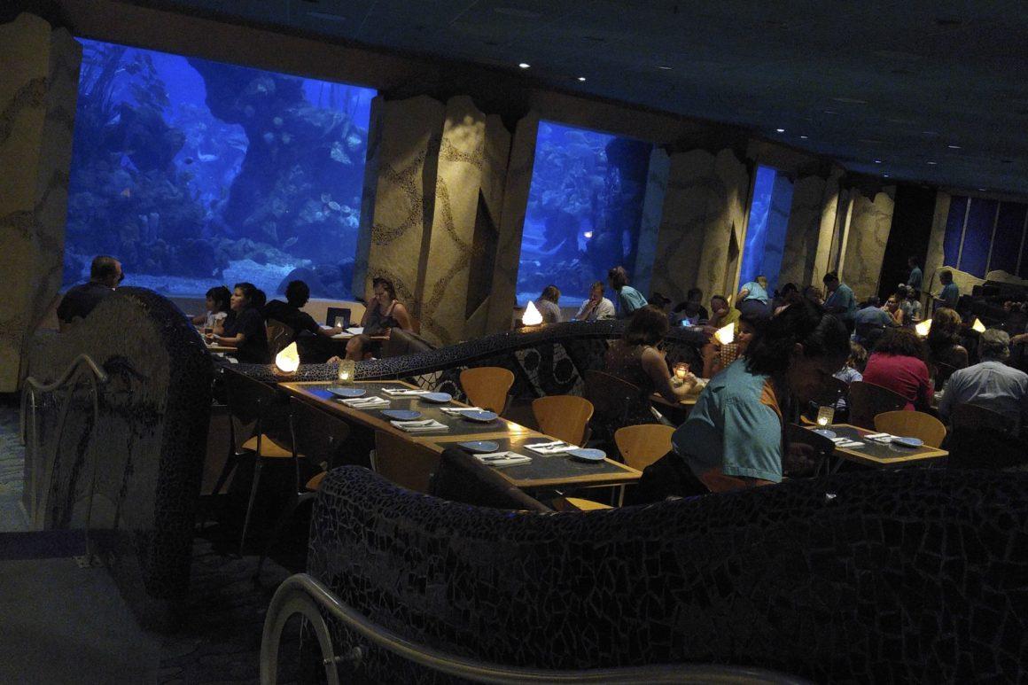 Coral Reef Restaurant - #StepstoMagic