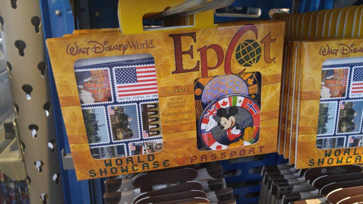 World Showcase Passport