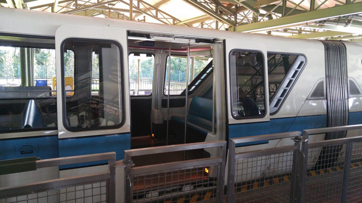 Monorail at Magic Kingdom