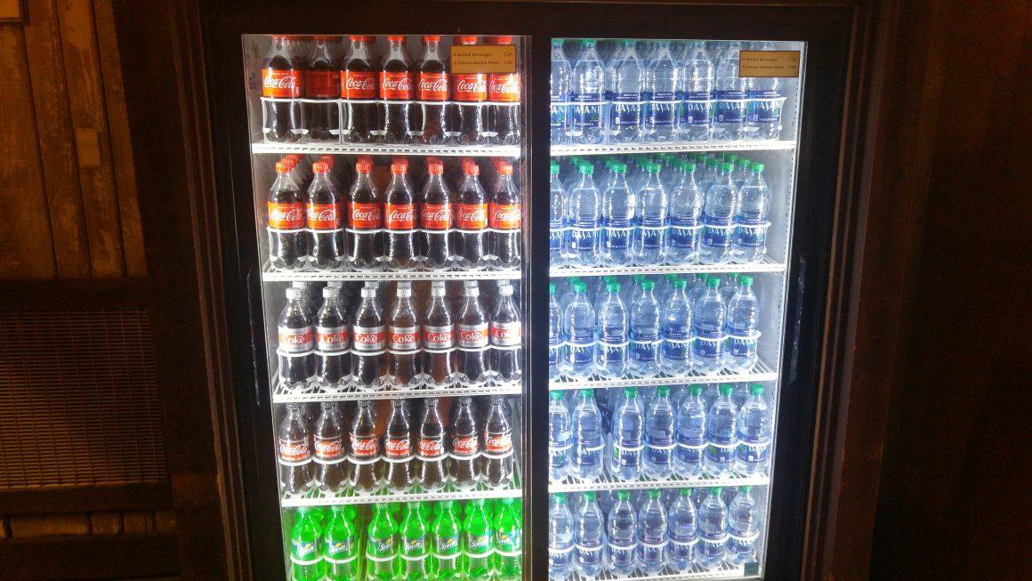Soda Cooler at Splash Mountain