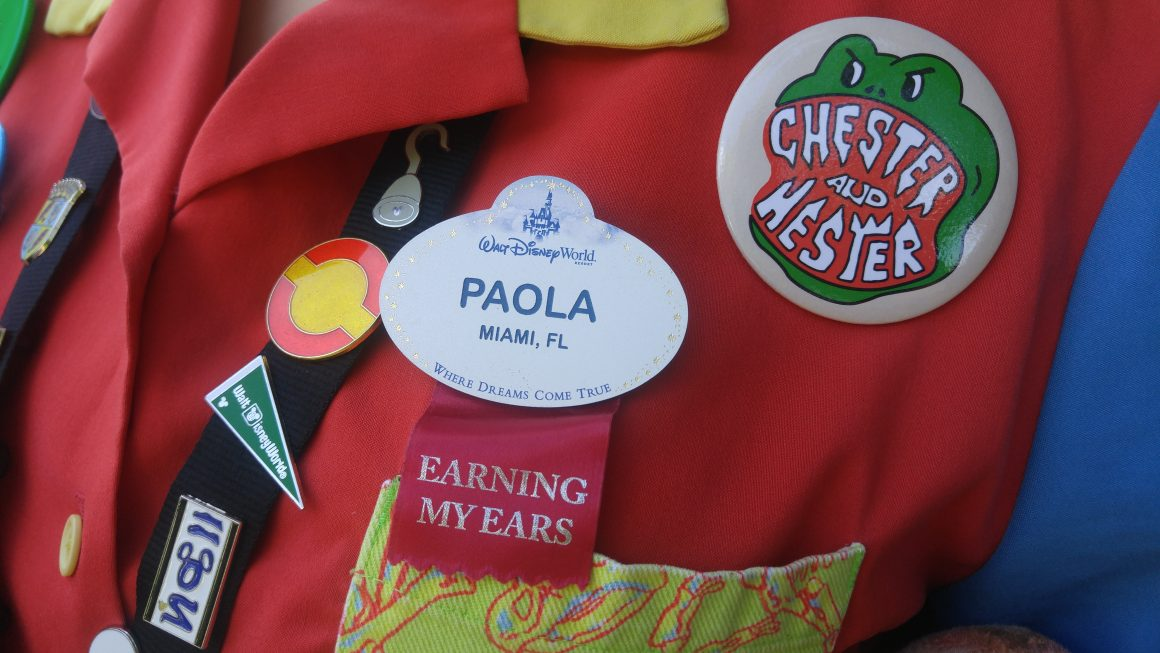 Cast Member Nametag and Pin Trading