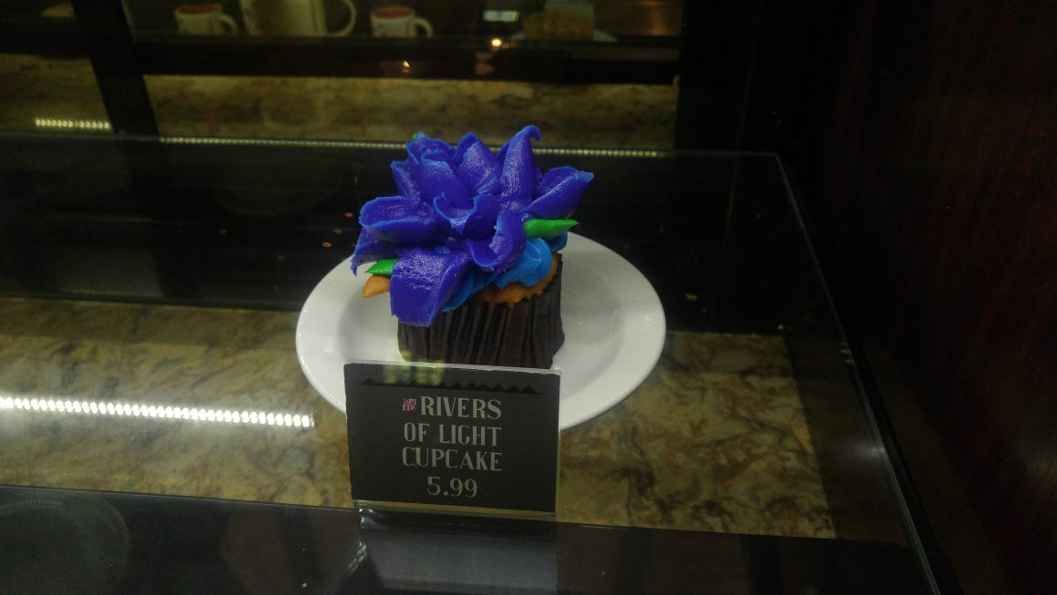 Rivers of Light Cupcake at Animal Kingdom Starbucks