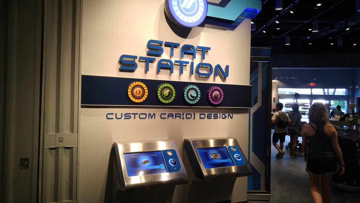 Stat Station at Test Track