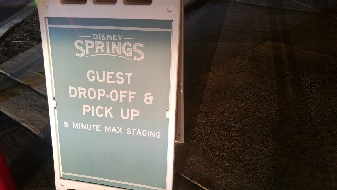 Disney Springs Guest Drop-Off