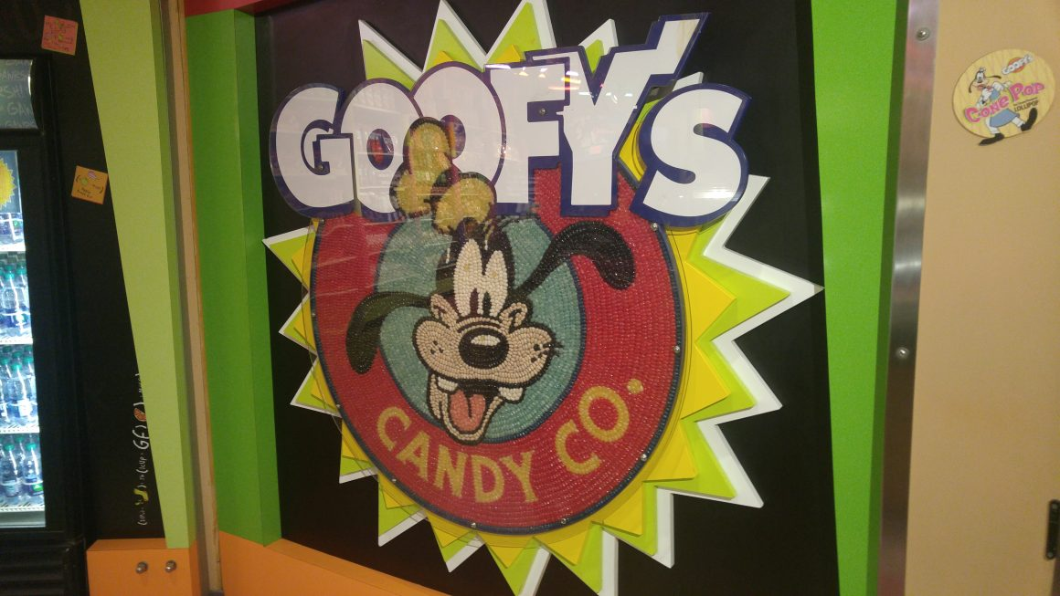 Goofy Candy Co at Disney Springs