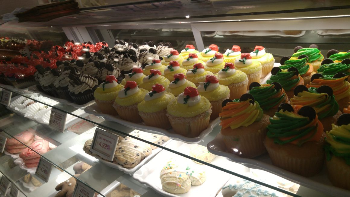 Cupcakes at the Main Street Confectionery