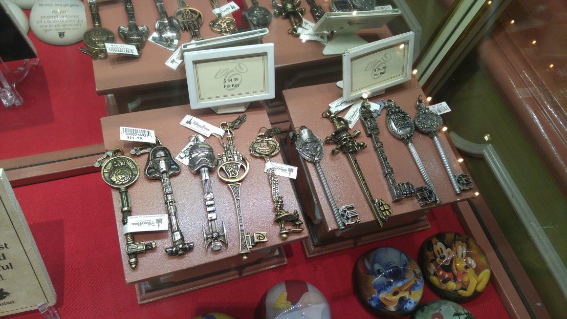 Souvenir Keys at The Art of Disney