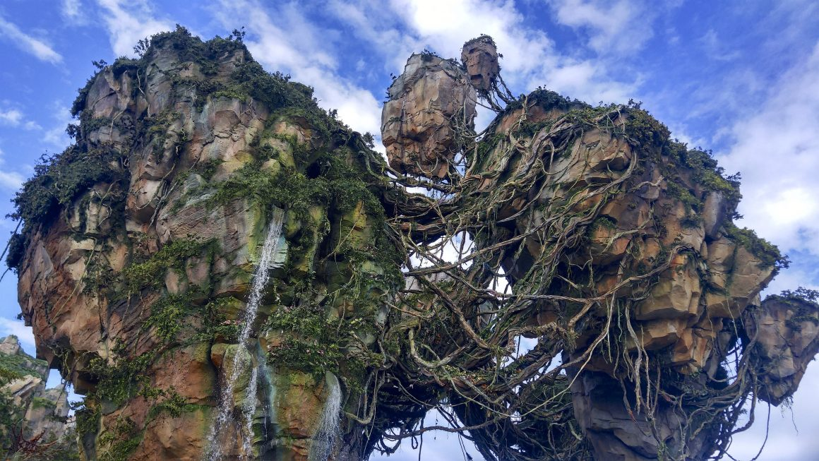Floating Mountains in Pandora the world of Avatar