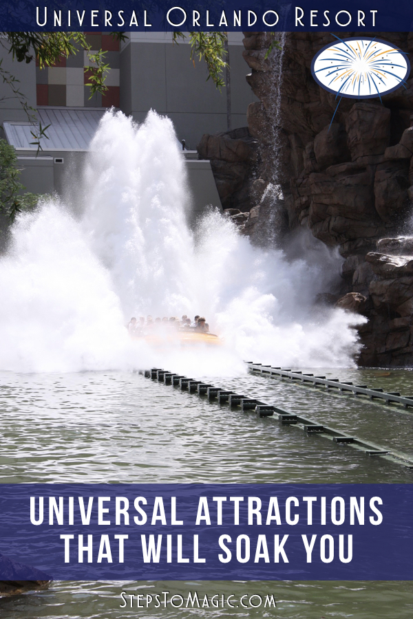 Attractions that you Can Get Soaked On at Universal Orlando Resort