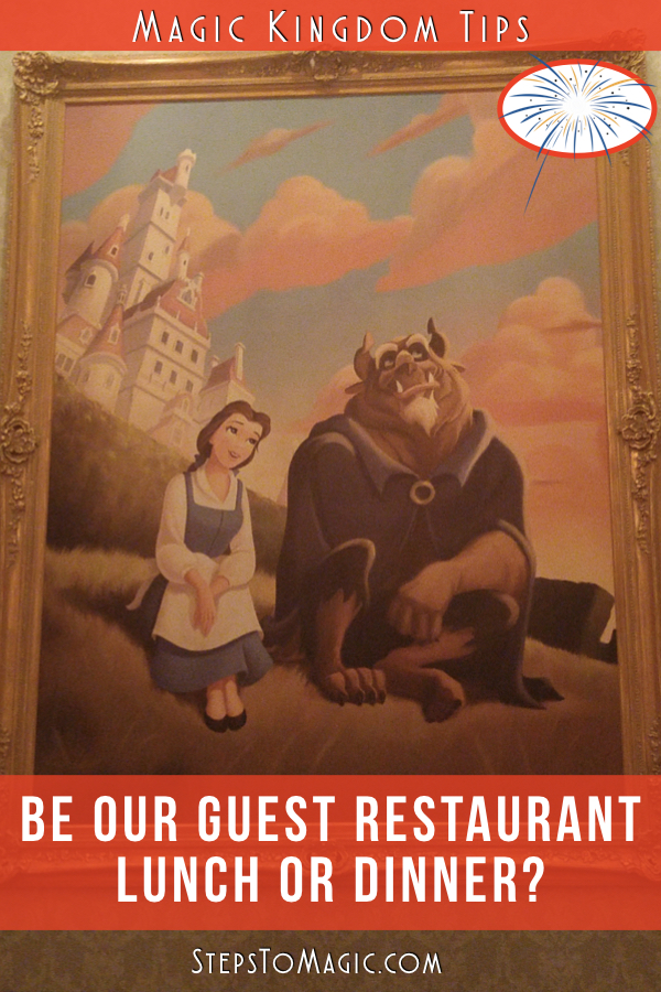 Be Our Guest Lunch Or Dinner
