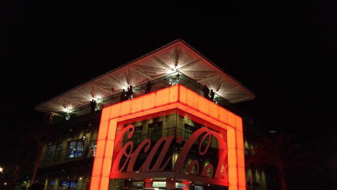 Coca Cola Store Disney Springs Night