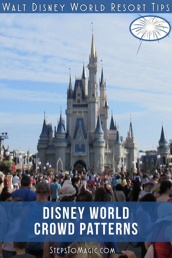 Disney World Crowd Patterns - #StepstoMagic