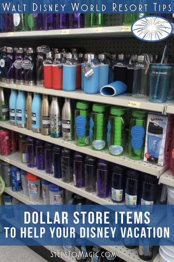 Dollar Store Items You Should Buy for a Disney Vacation