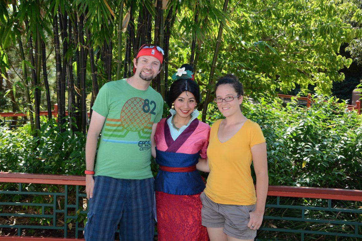 Mulan Meet and Greet in China PavilionMulan Meet and Greet in China Pavilion
