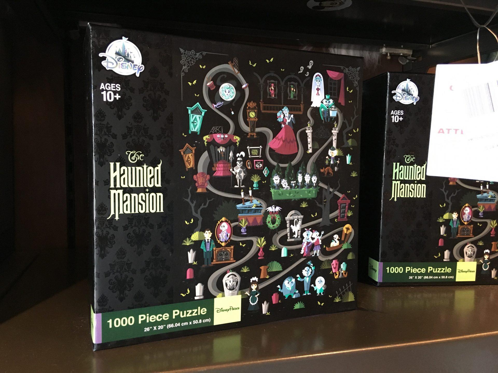 Haunted Mansion 1000 piece puzzle