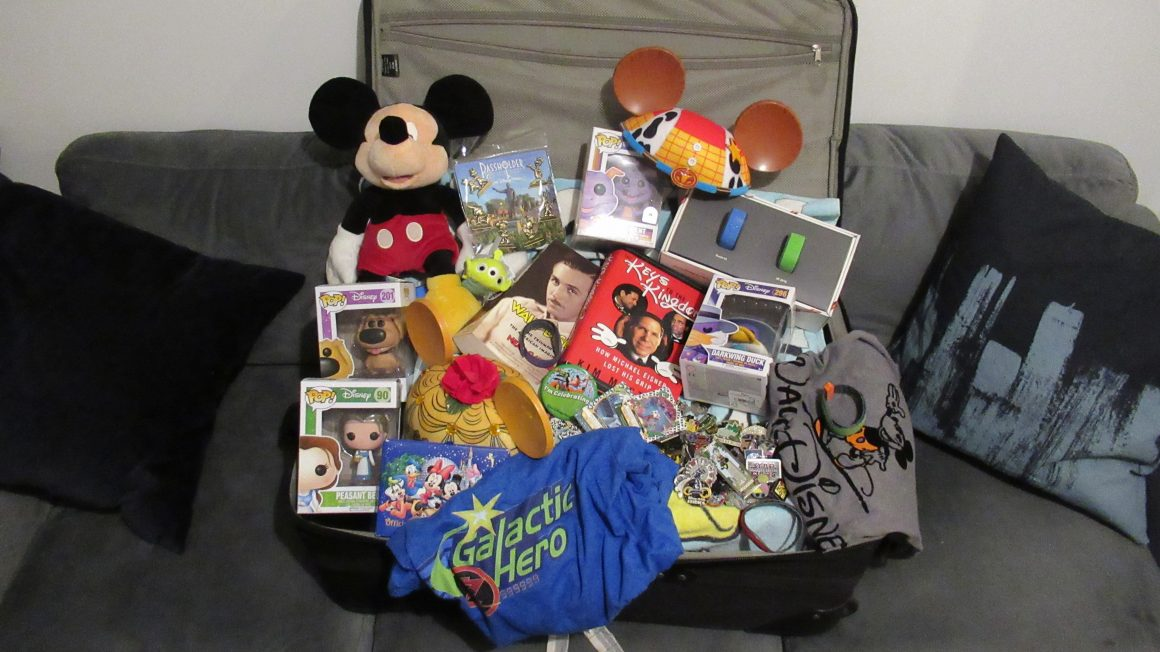 Overpacking Disney Vacation
