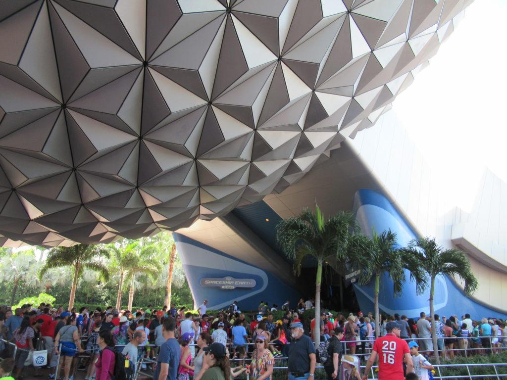 Spaceship Earth Line