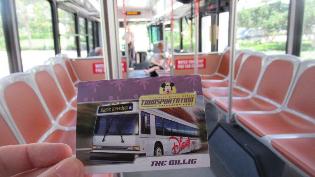 Disney's Souvenir Transportation Card