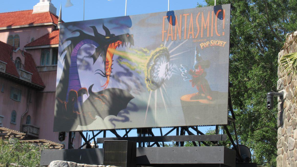 Fantasmic Sign at Disney's Hollywood Studios