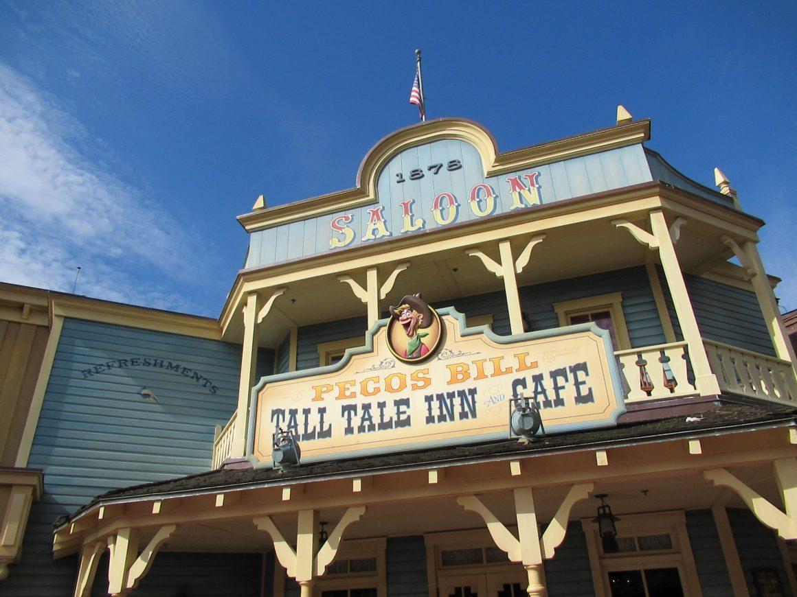 Pecos Bill's at the Magic Kingdom