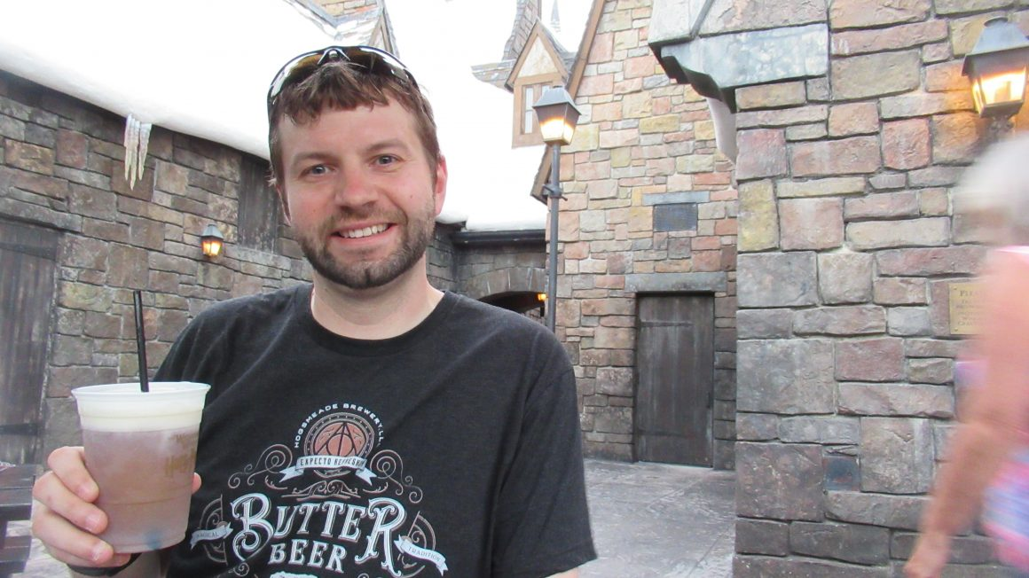 Butterbeer with Dustin from Steps to Magic