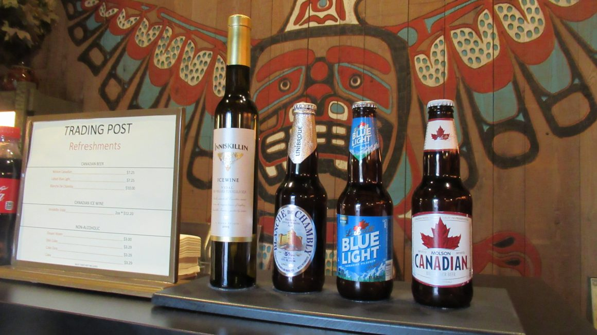 Beer Selection at Canada Pavilion