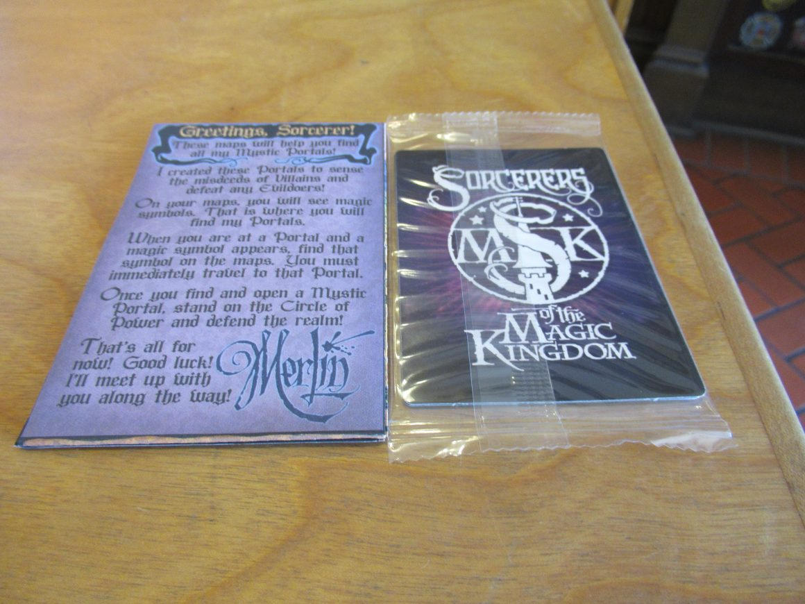 Sorcerer's of the Magic Kingdom Cards and Map