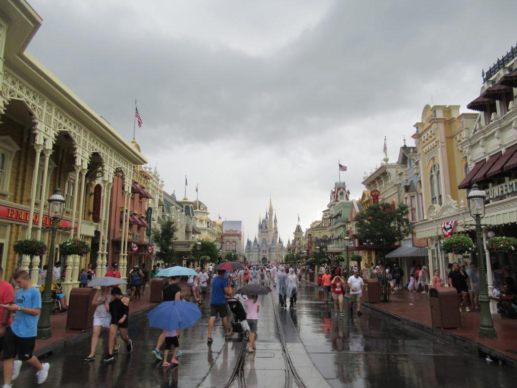 Main Street USA Rain