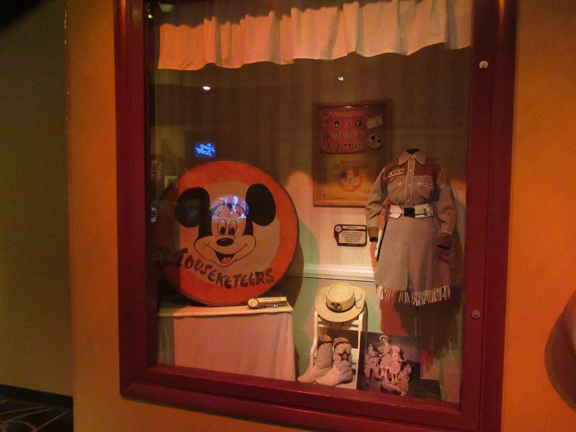 One Mans Dream - Mouseketeers Display