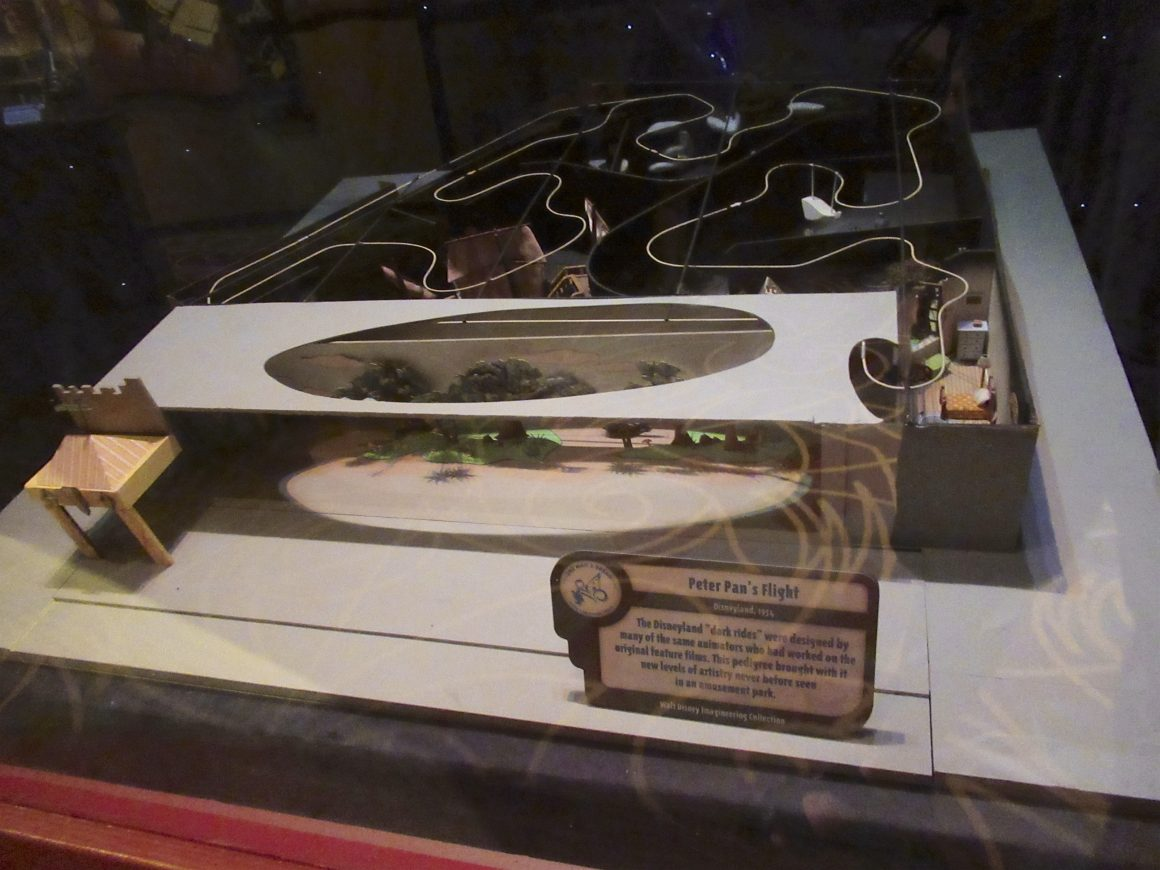 One Mans Dream - Peter Pan's Flight Display