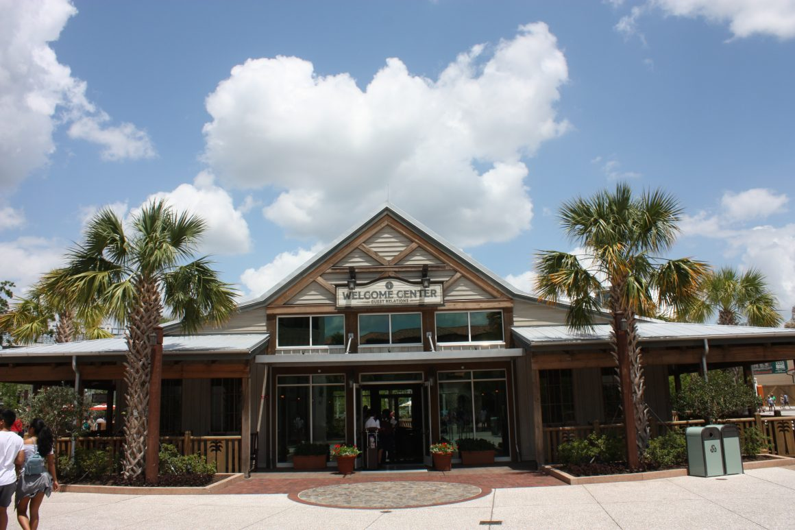 Welcome Center Guest Relations at Disney Springs
