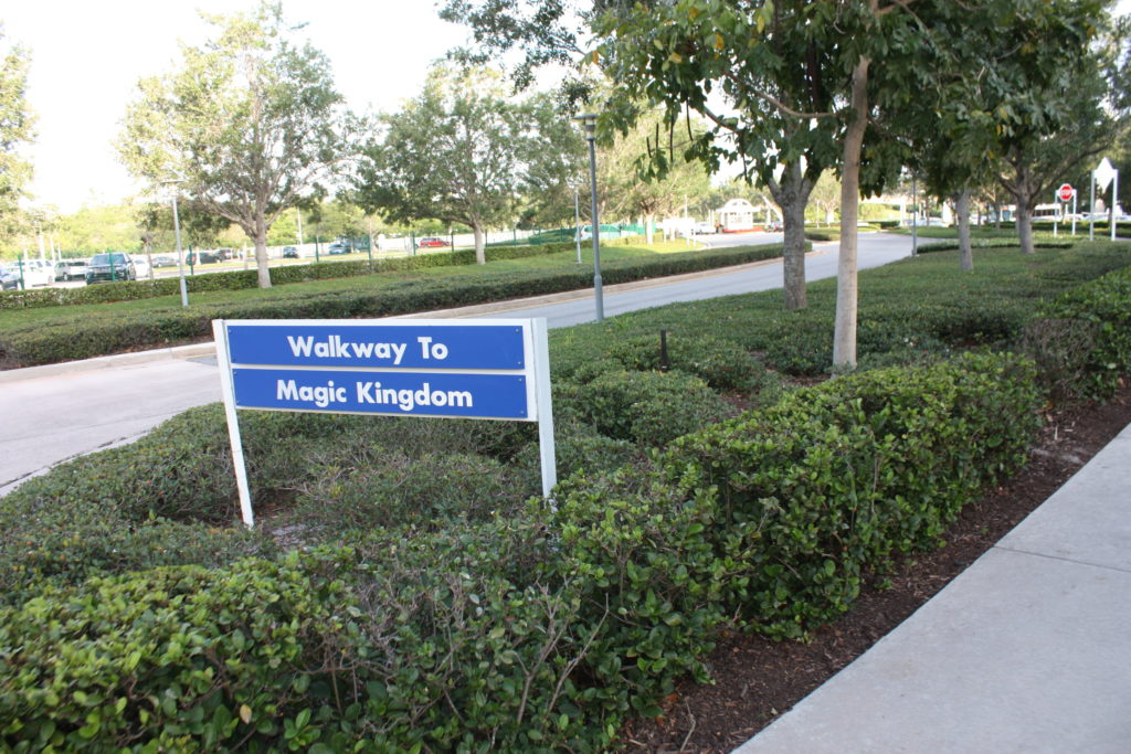 Walkway from Magic Kingdom to Contemporary
