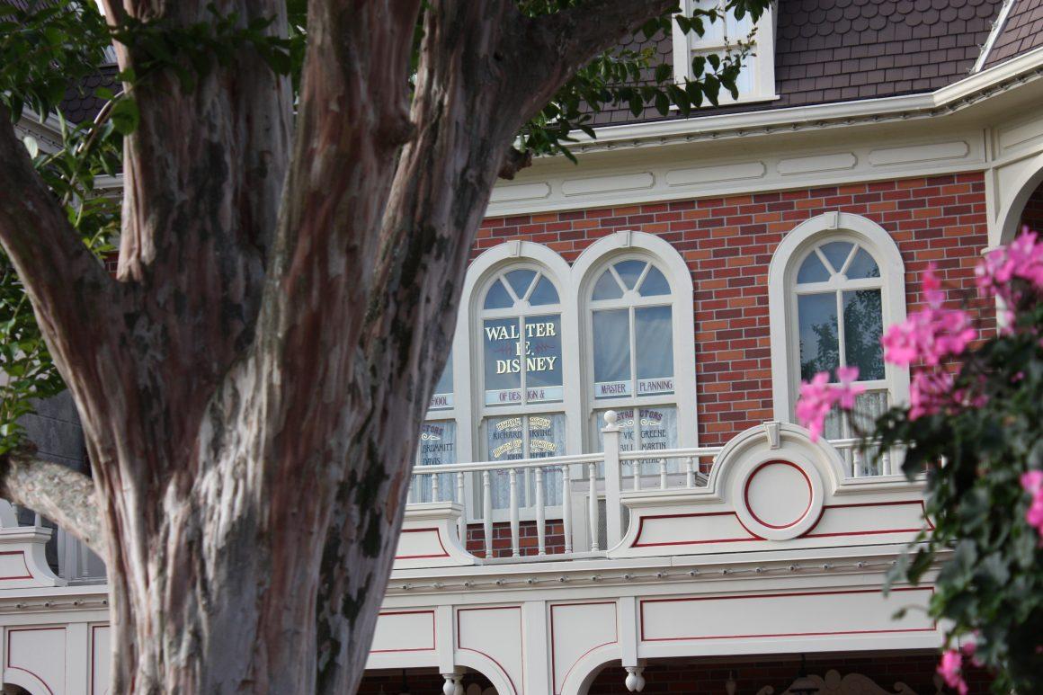 Walt Disney Window on Main Street USA