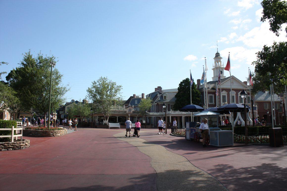 Liberty Square Walkways