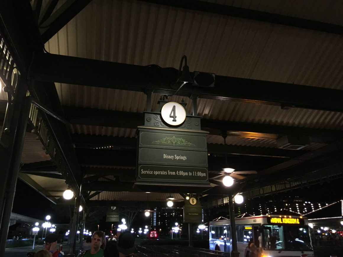 Magic Kingdom to Disney Springs Bus Transportation
