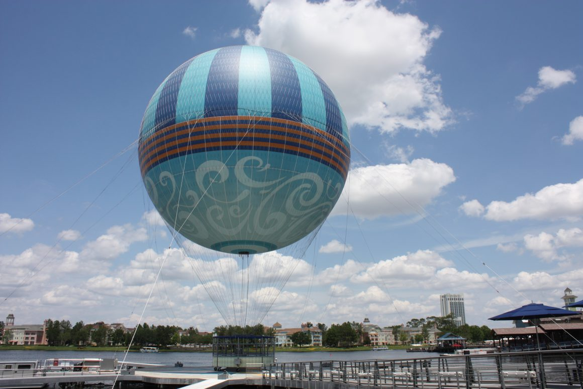 Aerophile Balloon at Disney Springs