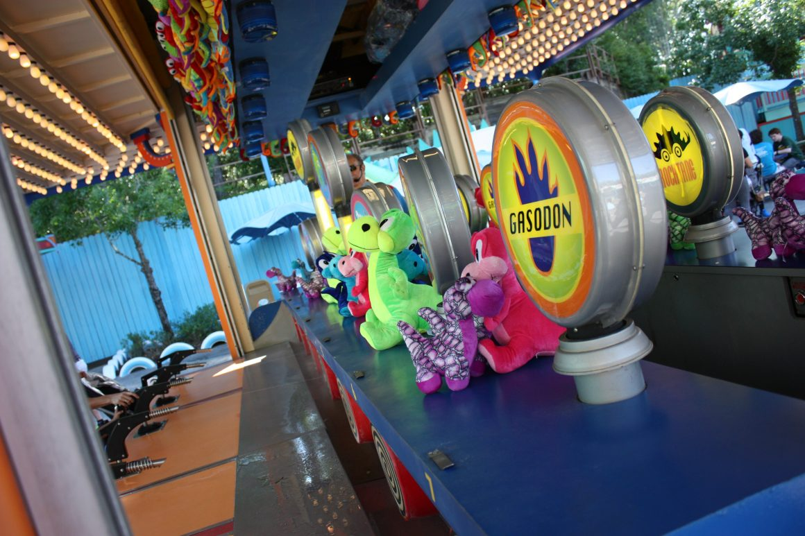 Carnival Games in Dinoland USA