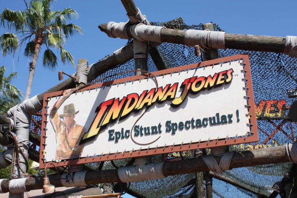 Indiana Jones Stunt Spectacular Show