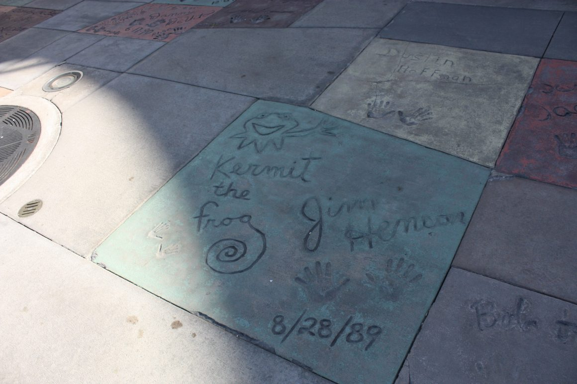 Jim Henson Footprints at Disney's Hollywood Studios