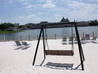 White Sand Beach at Disney Beach Club Resort